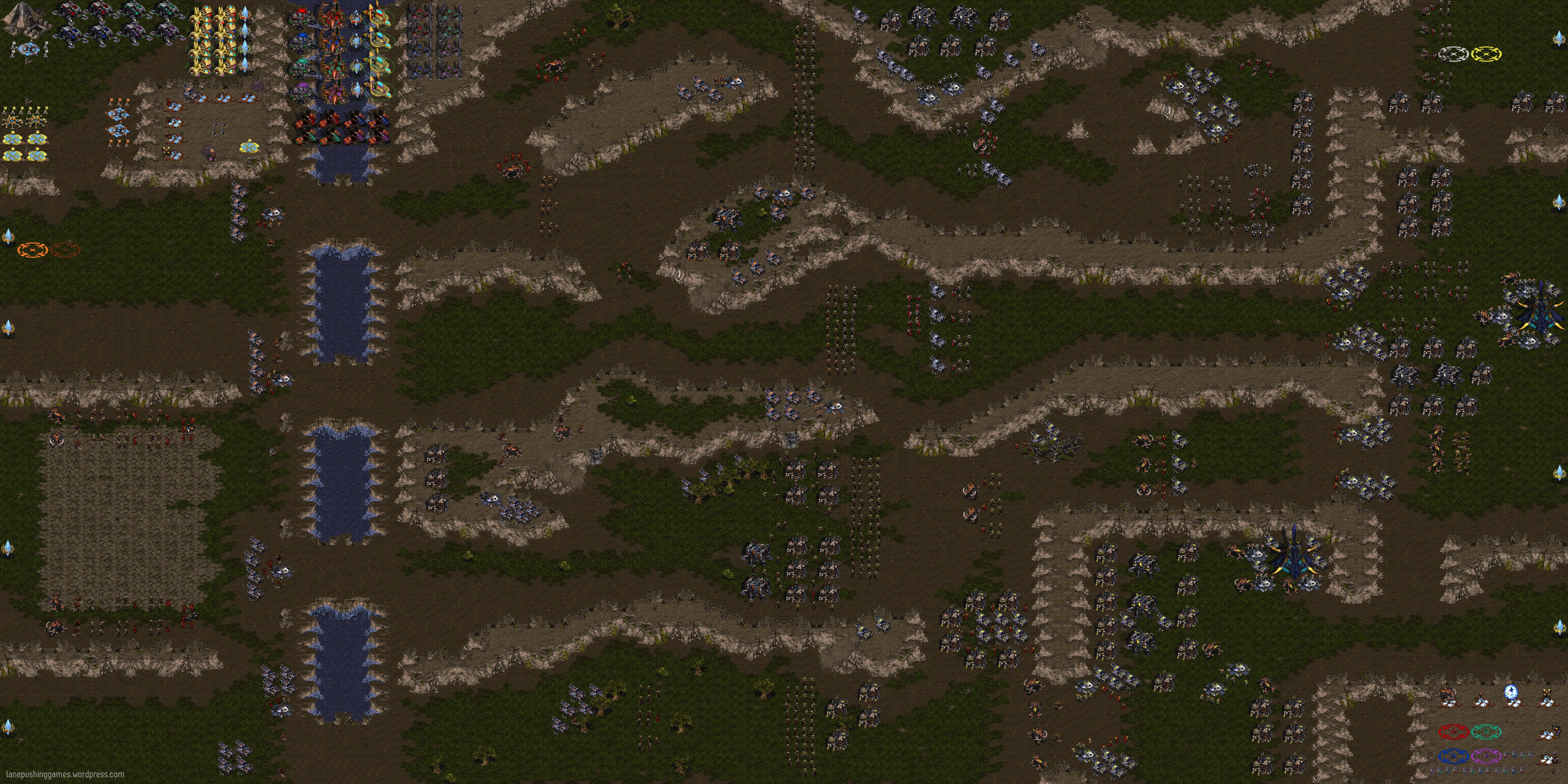 Lane-Pushing Games — Aeon of Strife